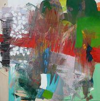 Ölmalerei, Spachteltechnik, Gestische malerei, Schichtenmalerei