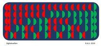 Dualzahlen, Repetition, Evolution, Digitale kunst