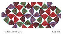 Pythagoras, Wirbel, Konkrete kunst, Digitale kunst