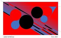 Kreis, Pythagoras, Konkrete kunst, Digitale kunst