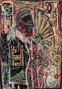 Abstrakt, Acrylmalerei, Modern art, Malerei