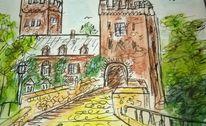 Bingen, Burg, Klopp, Zeichnungen