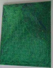 Malerei acrylmalerei, Abstrakt, Ausdruck, Gefühl