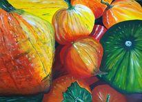Herbst, Acrylmalerei, Stillleben, Malerei