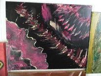 Acrylmalerei, Stimmung, Herbst, Gedanken