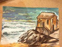 Meer, Welle, Malerei
