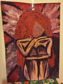 Acrylmalerei, Menschen, Malerei