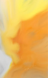 Orange, Gelb, Weiß, Digitale kunst