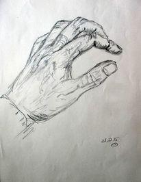 Bleistiftzeichnung, Hand, Anatomie, Zeichnungen