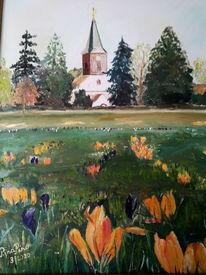 Schönheit, Frühling, Kirche, Licht
