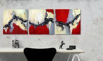 Acrylmalerei, Malerei, Abstrakt, Modern art