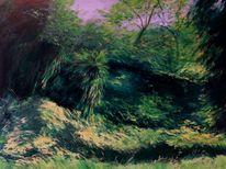 Landschaft malerei, Monte verita, Tessin, Malerei
