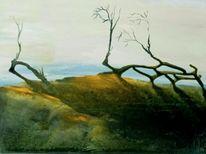 Natur, Landschaft, Baum, Einsamkeit