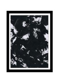 Bunt, Schwarz, Malerei abstrakt, Modern