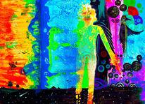 Traum, Bunt, Psychedelisch, Abstrakt