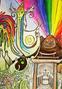 Psychedelisch, Magie, Farben, Mystik