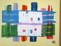 Abstrakte malerei, Fantasie, Malerei, Flut