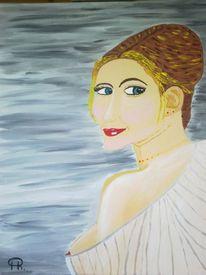 Abstrakte malerei, Frau, Erotik, Malerei
