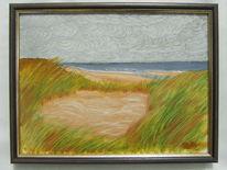 Strand, Meer, Dünen, Malerei