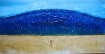 Welle, Tsunami, Wasser, Malerei