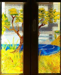Transparenz, Baum, Strand, Meer
