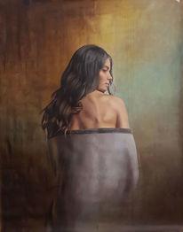 Ölmalerei, Menschen, Fotorealismus, Portrait