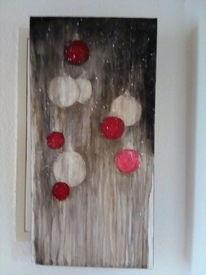 Weihnachten, Kugel, Acrylmalerei, Malerei