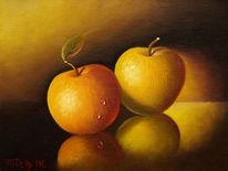 Licht, Ölmalerei, Schatten, Stillleben