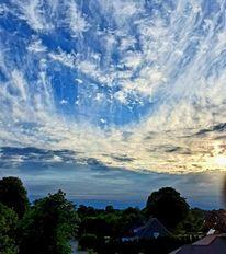 Himmel, Blau, Dämmerung, Pinnwand