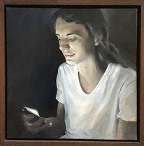 Portrait, Kontrast, Junger mann, Licht