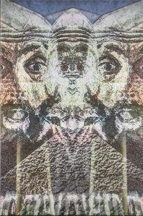 Portrait, Digitale kunst,