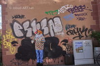 Armut, Graffiti, Gesellschaftskritik, Straße