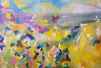 Landschaft, Meer, Atmosphäre, Malerei