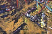 Bunt, Abstrakt, Malerei,