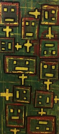 Formen, Bunt, Maschine, Malerei