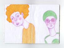 Gelb, Zeichnung, Figur, Zeichnungen