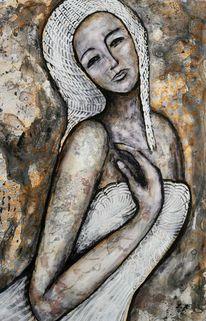Lydia kalasz, Modern art, Mixed media, Malerei