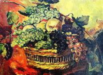 Obst, Stillleben, Malerei