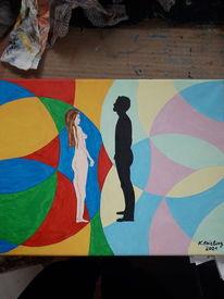 Bunt, Traum, Ansichtssache, Malerei