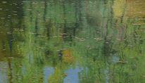 Landschaft, Wasser, Ölmalerei, Impressionismus