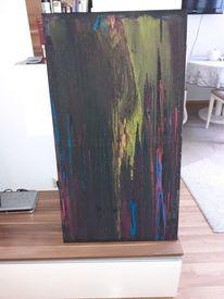 Malerei, Modern art, Farben, Aquarell