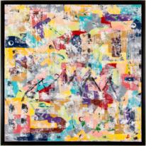 Abstrakt, Farbismus, Abstrakte kunst, Kunstwerk