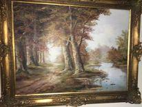Herbst, Bach, Fluss, Wald