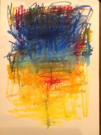 Verwischen, Bunt, Übergang, Malerei