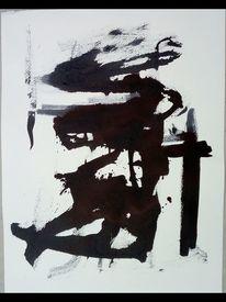 Linie, Schwarz, Dicht, Malerei