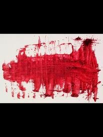 Rot, Fabelwesen, Verwischen, Malerei