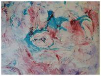 Acrylmalerei, Intuitive, Ausdrucksmalerei, Malerei