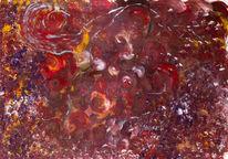 Silber, Acrylmalerei, Abstrakt, Ausdrucksmalerei