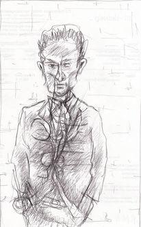 Menschen, Expressionismus, Abstrakt, Zeichnungen