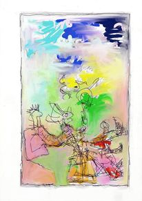 Figur, Intuition, Spontan, Abstrakt